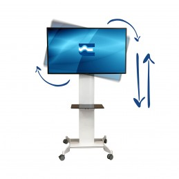 Support sol mobile EUROMET...