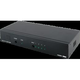 Switcher 4x1 HDMI 4K...