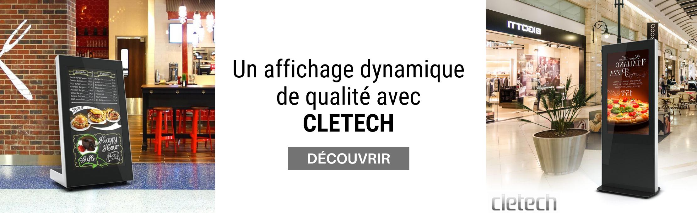 Decouvrir la gamme Cletech